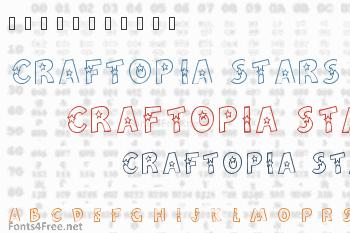Craftopia Stars Font