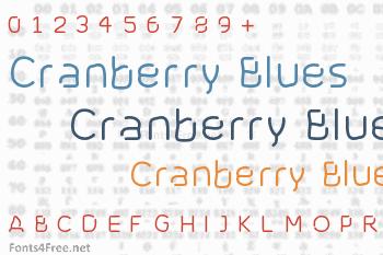 Cranberry Blues Font