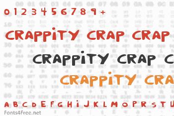 Crappity Crap Crap Font
