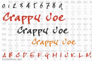 Crappy Joe Font