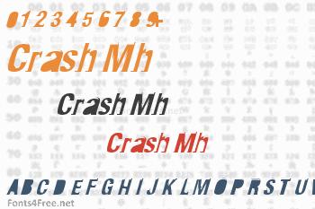 Crash Mh Font