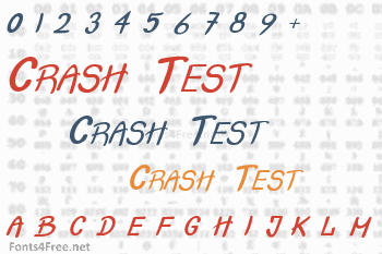Crash Test Font
