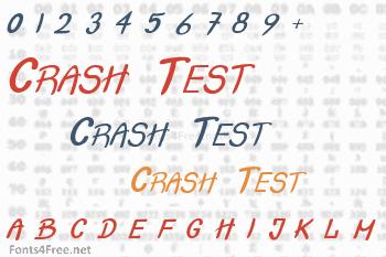 Crash Test Font