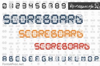 Crashed Scoreboard Font