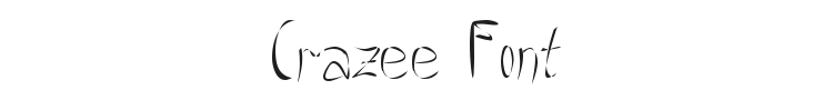 Crazee Font Preview