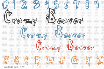 Crazy Beaver Font