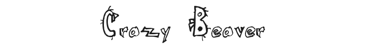 Crazy Beaver Font Preview