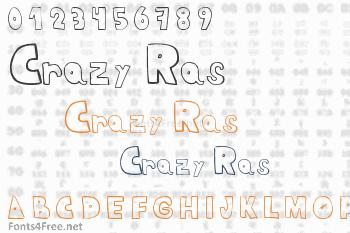 Crazy Ras Font