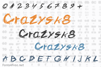 Crazysk8 Font