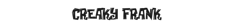 Creaky Frank Font Preview