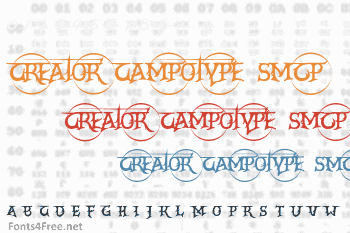 Creator Campotype Smcp Font