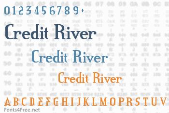 Credit River Font