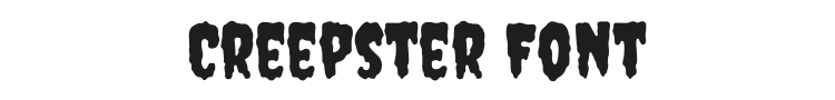 Creepster Font Preview