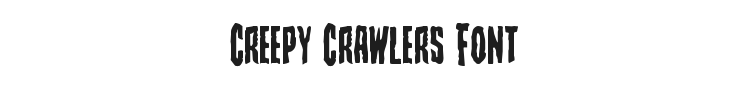 Creepy Crawlers Font Preview
