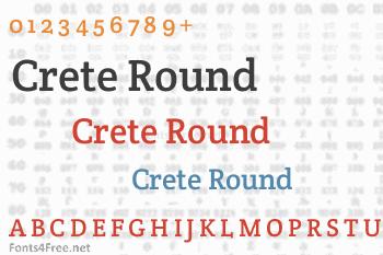 Crete Round Font