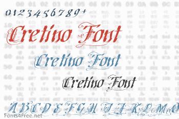 Cretino Font