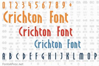 Crichton Font