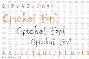 Cricket Font