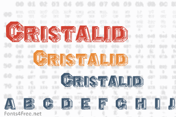 Cristalid / Prismatica Font