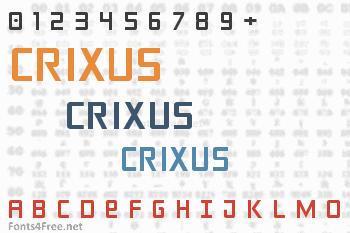 Crixus Font
