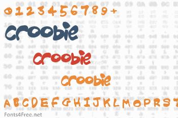 Croobie Font