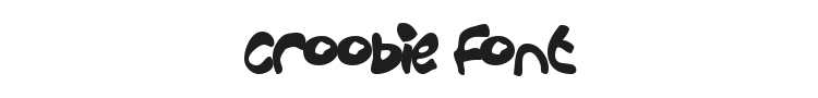 Croobie Font Preview