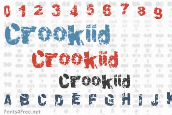 Crookiid Font