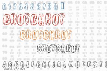 Crotchrot Font