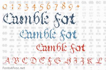 Crumble Font