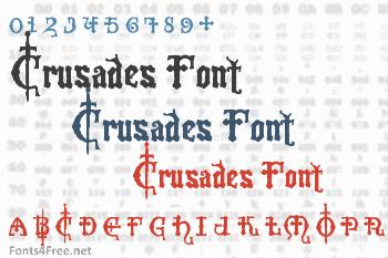 Crusades Font