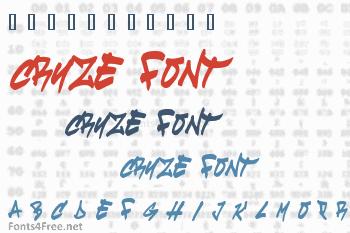 Cruze Font