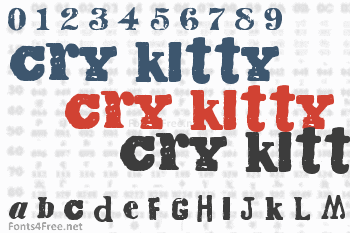 Cry Kitty Font