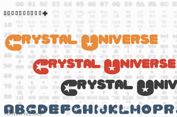 Crystal Universe Font
