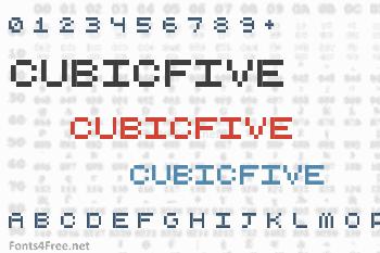 CubicFive Font