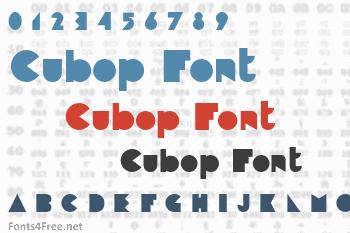 Cubop Font