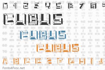 Cubus Font