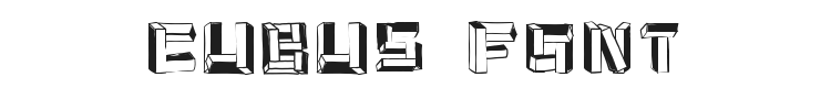 Cubus Font Preview