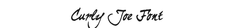 Curly Joe Font Preview
