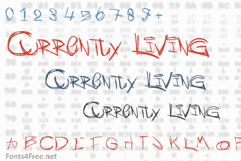 Currently Living Font