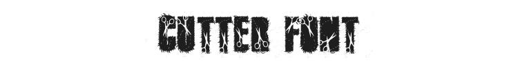 Cutter Font