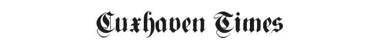 Cuxhaven Times Font