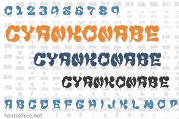 Cyankonabe Font