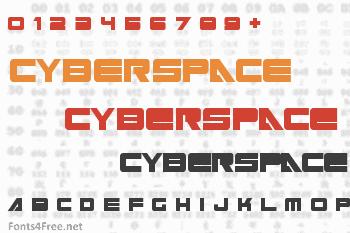 Cyberspace Font