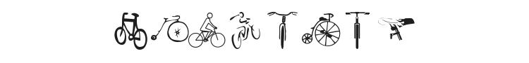 Cycling Font