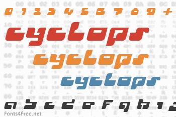 Cyclops Font