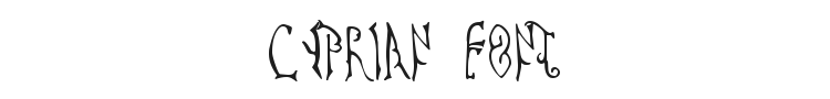 Cyprian Font Preview