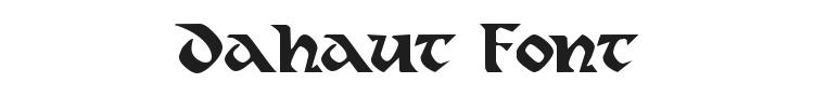 Dahaut Font