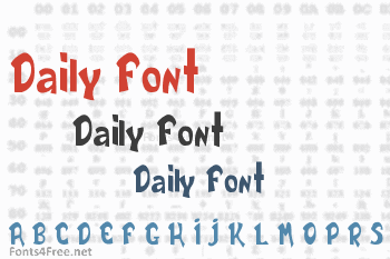 Daily Font
