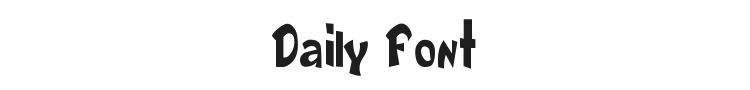 Daily Font Preview