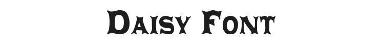 Daisy Font